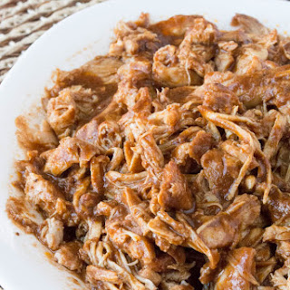 Crock Pot Sugar Free BBQ Pulled Chicken