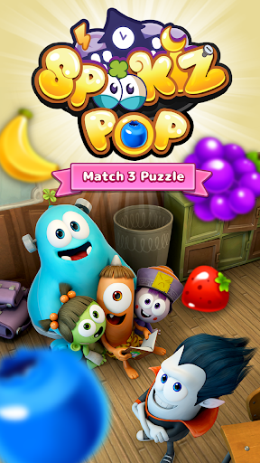 SPOOKIZ POP  Match 3 Puzzle For PC