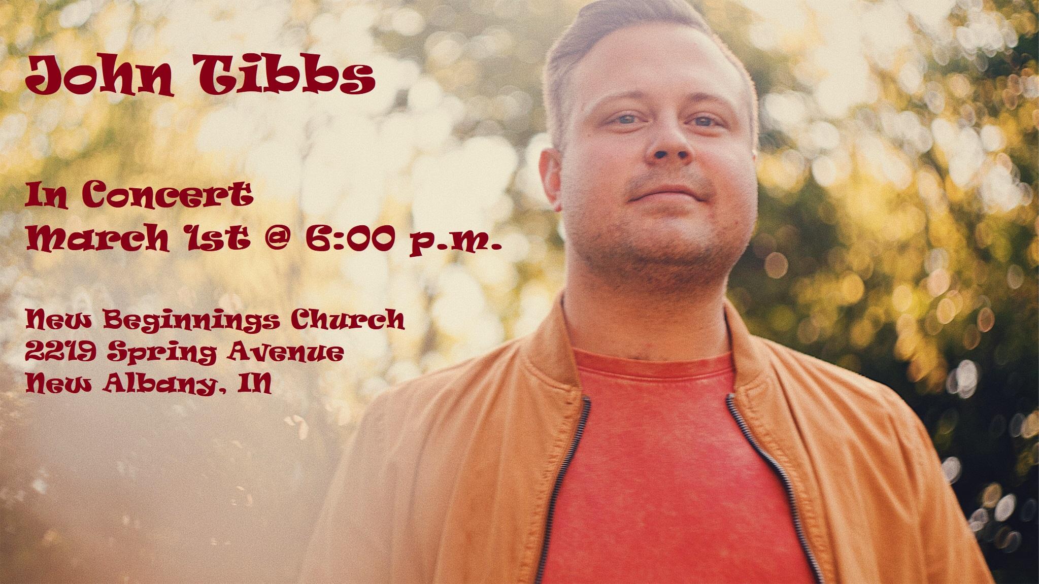 John Tibbs 3-1-2020