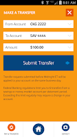 Screenshot of SunTrust Mobile App