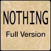 Nothing - Full Version APK for Bluestacks
