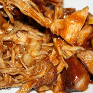 Bourbon Slow Cooked Pulled Pork