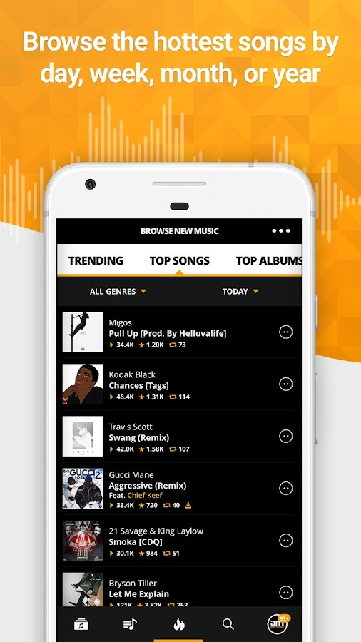 Audiomack Mixtapes & Music App Screenshot 3