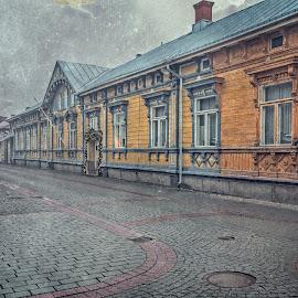 by Bojan Bilas - City,  Street & Park  Neighborhoods ( advent, urban, color, beautiful, fine art, christmas, suomi, finland, long exposure, travel, landscape, rauma )