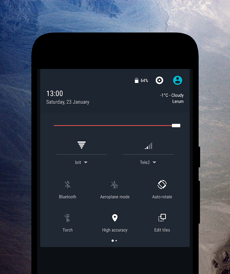 Swift Style CM12 & CM13 Theme Screenshot 1