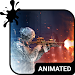 Warfare Animated Keyboard Icon