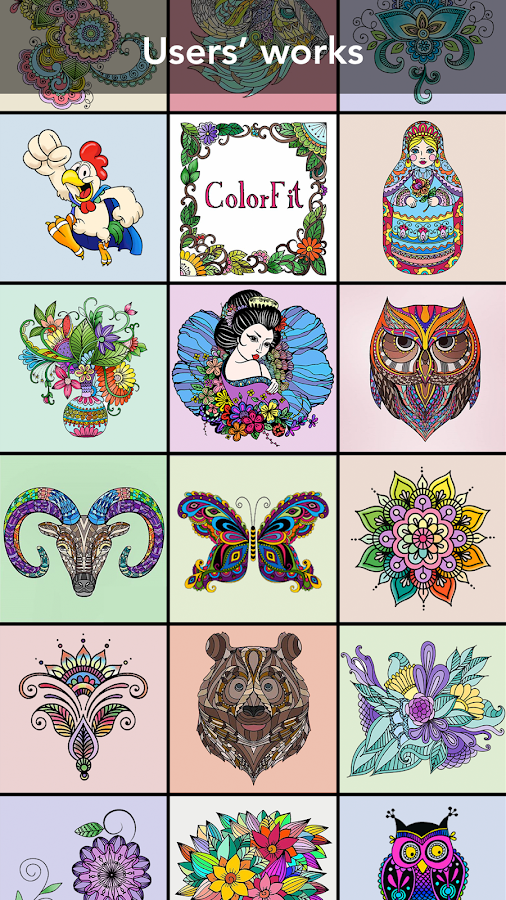 Family Coloring book Screenshot 2