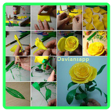 Simple Paper Flower Tutorials