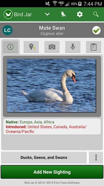 Bird Jar: Birding Checklist screenshots