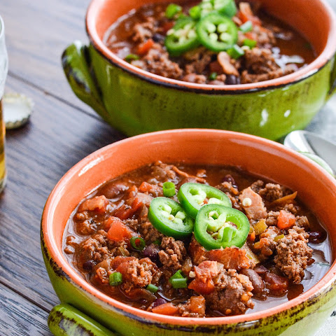 Bacon Bison Beer Chili