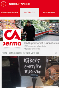 ICA Supermarket Simrishamn - screenshot