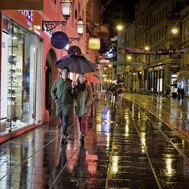 Ilica 101 by Dunja Kolar - City,  Street & Park  Night ( croatia, zagreb, ilica 101 )