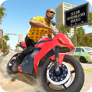 City Traffic Moto Racing Online PC (Windows / MAC)
