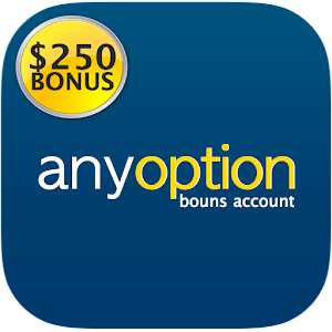 anyoption - $250 bonus account