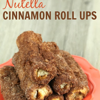 Easy Nutella Cinnamon Roll Ups