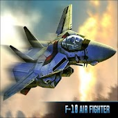 F18 3d Jet Fighter War Airplanes Flight Simulator APK baixar