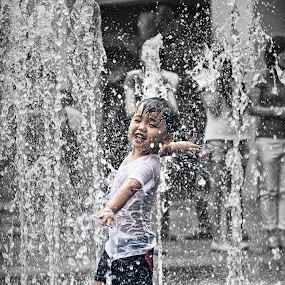Water Bender by Glice Galac - Babies & Children Children Candids