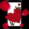 Rose petals 3D Live Wallpaper APK for Bluestacks