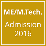 ME M.Tech Admission 2015 APK Image