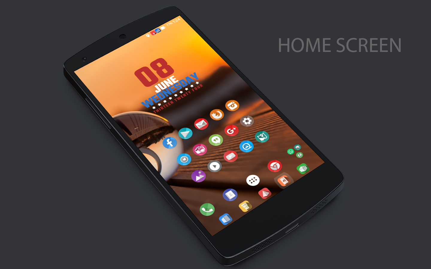 Shadows CM13 CM12/12.1 Theme Screenshot 0