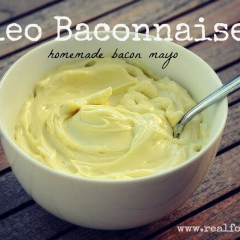 Paleo Baconnaise (homemade bacon mayo)