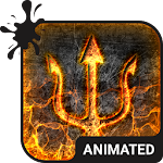 Burning Animated Keyboard APK Image