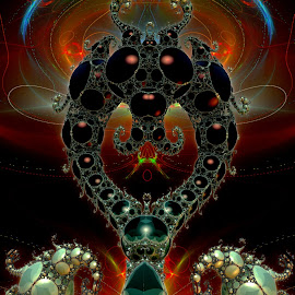Biloquey by Rick Eskridge - Illustration Sci Fi & Fantasy ( jwildfire, mb3d, fractal, acdsee 19, twisted brush )