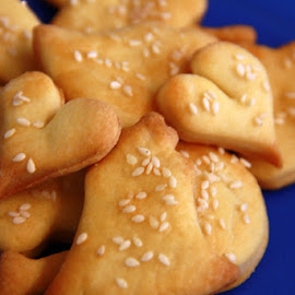 Happy Valentine's Day Cookies by Kristina Koboevic - Food & Drink Cooking & Baking