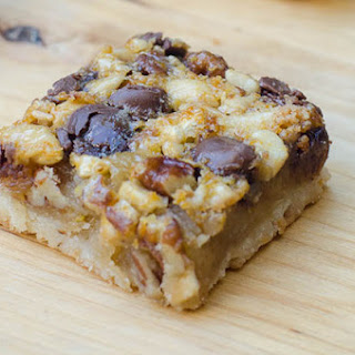 Chocolate Caramel Nut Bars Recipes