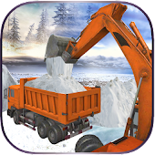 Free Snow Plow Rescue Excavator APK for Windows 8