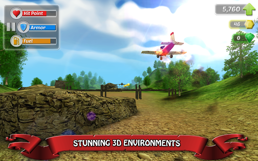 Wings on Fire - Endless Flight screenshot 2