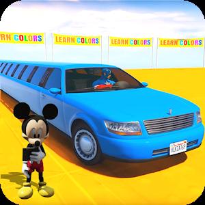 Superhero Limo Car Stunts: Free Kids Racing Games For PC / Windows 7/8/10 / Mac – Free Download