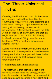 Basic Teaching Of The Buddha- screenshot thumbnail