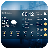 Weather App with Date & Clock APK for Lenovo