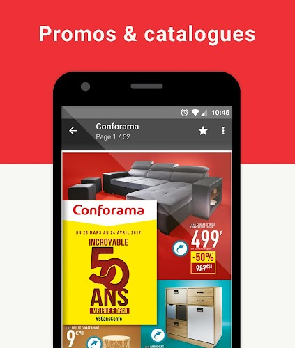 Bonial - Promos, Offres & Catalogues Android App Screenshot