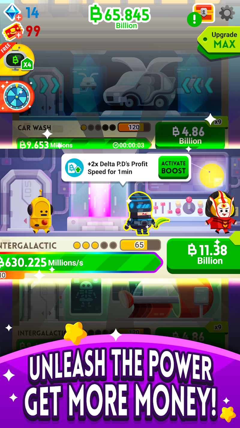 Cash, Inc. Money Clicker Game & Business Adventure Screenshot 13