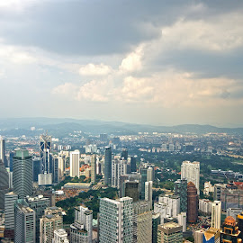 KL View by Mulawardi Sutanto - City,  Street & Park  Historic Districts ( street, malaysia, travel, kl, city )