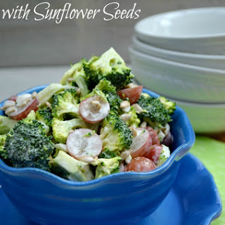 Broccoli Salad With Grapes And Sunflower Seeds Recipes