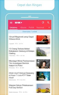 BaBe+ - Berita Indonesia - screenshot