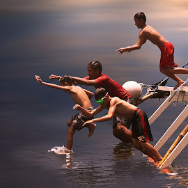 jump by Robby Montolalu - Digital Art People ( sangihe, indonesia, north sulawesi, tahuna )