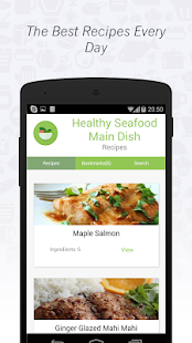 Healthy Food: Seafood Cuisine - screenshot