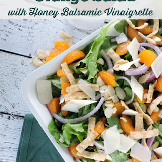 Orange Salad with Honey Balsamic Vinaigrette