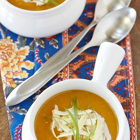 Slow Cooker Sweet Potato and Cheddar Soup