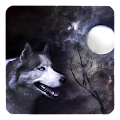 Wolf and Moon Live Wallpaper APK for Ubuntu