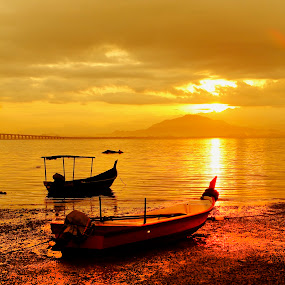 New Day New Life by Nasaruddin Naseh - Landscapes Waterscapes