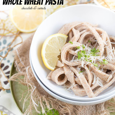 Homemade Whole Wheat Fettuccine