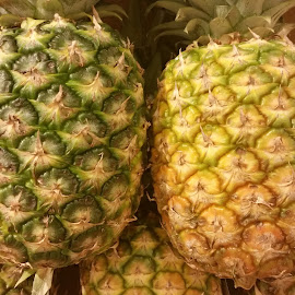 Juicy pineapples by Maricor Bayotas-Brizzi - Food & Drink Fruits & Vegetables