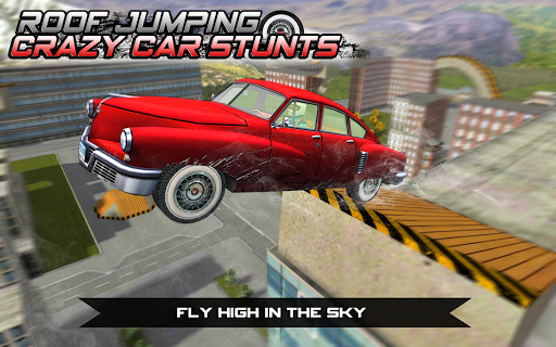 Roof Jumping Crazy Car Stunts - screenshot