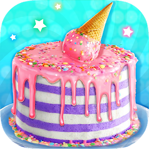 Ice Cream Cone Cake - Sweet Trendy Desserts