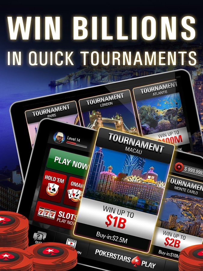 PokerStars Play: Free Texas Holdem Poker Game Screenshot 9
